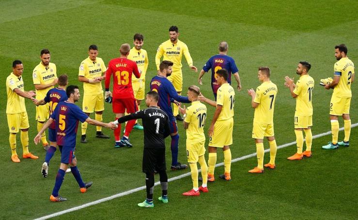 Las mejores imágenes del Barcelona-Villarreal