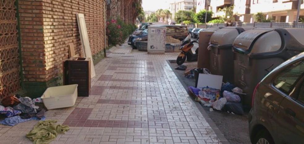 Carretera de Cádiz: un punto nada limpio
