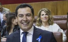 Juanma Moreno ofrece a Susana Díaz negociar los presupuestos y evitar un «teatrillo» con Ciudadanos
