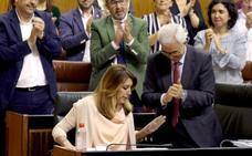 Susana Díaz amaga con apurar la legislatura