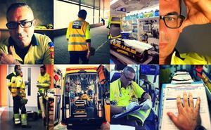 'Batallas de una ambulancia', el libro de un enfermero malagueño que no quiere ser 'superhéroe'