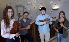 A EE UU de la mano del maestro del violín Jesús Reina