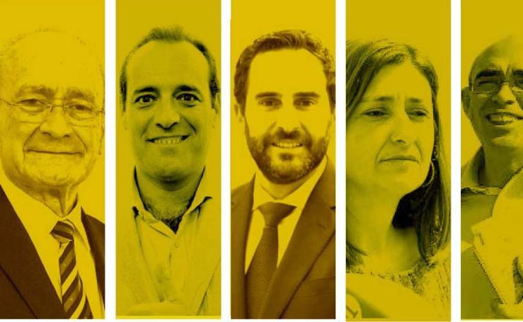 Valoración de los candidatos a la alcaldía de Málaga según sondeo de Metroscopia para el PP