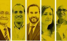 Aprobado para todos los líderes y el alcalde de Málaga es el mejor valorado