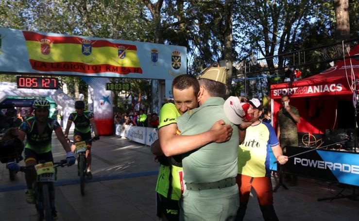 Fotos de la 21 carrera de los 101 kilómetros de la Legión en Málaga
