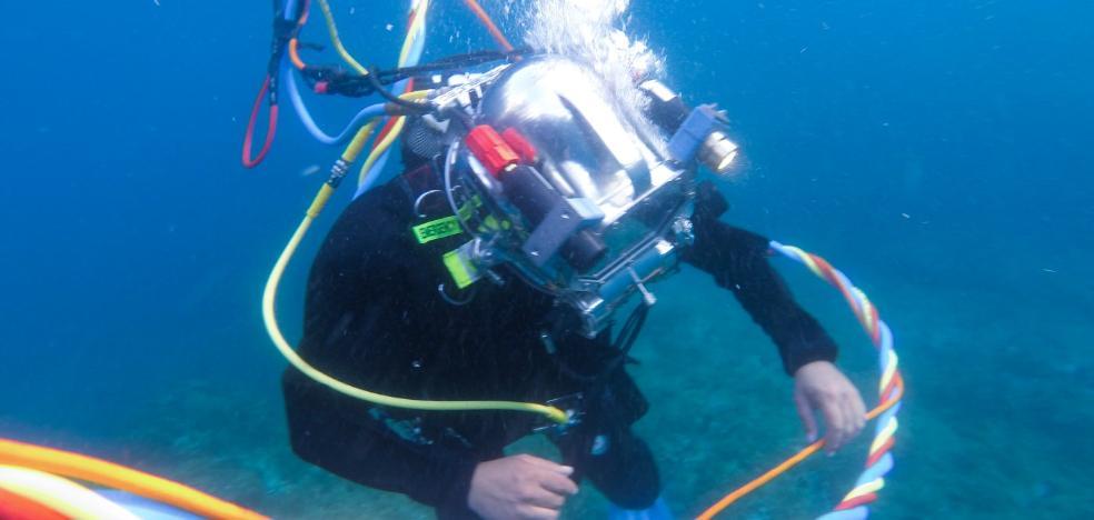 Tecnología malagueña al servicio del buceo militar de rescate