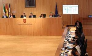 Las cuestiones sociales marcarán el pleno de la Diputación de Málaga