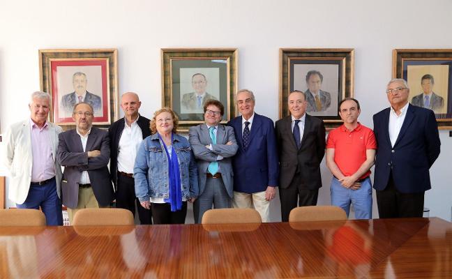 Exdiputados andaluces se reúnen en la UMA
