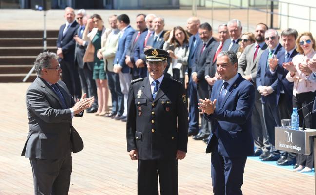 Málaga estrecha sus lazos con la Policía Nacional