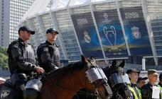 Simulacros de seguridad en Kiev para la final de Champions