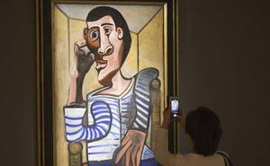 Un Picasso valorado en 70 millones se daña días antes de ser subastado