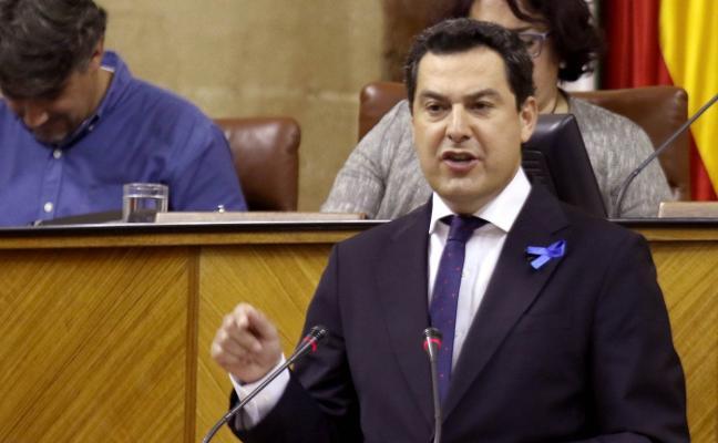 Moreno dice que «enchufados» del PSOE cobraban de la Faffe mientras se dedicaban «a leer el periódico»