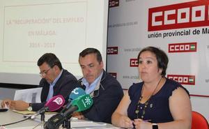 A la provincia de Málaga le faltan aún 45.700 empleos para alcanzar el nivel previo a la crisis