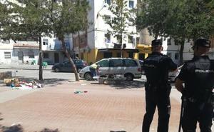 Un tiroteo siembra el pánico en el mercadillo de La Palmilla