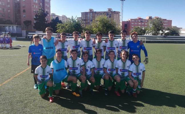 El Málaga cadete se impone a domicilio al Real Betis y el Antequera vence al Atlético Jaén