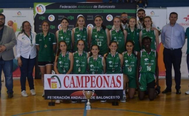 Unicaja gana el Campeonato de Andalucía infantil femenino