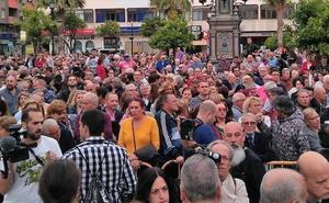 Miles de personas se concentran en Algeciras pidiendo más compromiso en la lucha contra el narcotráfico