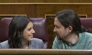 Pablo Iglesias: «Sabemos que muchas familias españolas, incluso con dos sueldos, no pueden permitirse una hipoteca así»