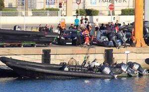 Tres detenidos por disparos al aire antes de la concentración contra la violencia en Algeciras