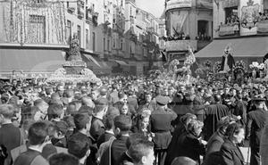 Las anteriores procesiones magnas con la Patrona de Málaga