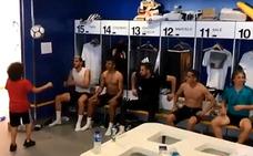 Así las gasta el hijo de Marcelo con los jugadores del Real Madrid
