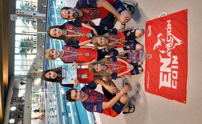 El Open Chupete reúne a casi 250 nadadores de toda Andalucía