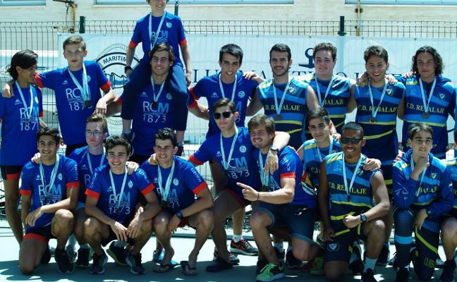 El Real Club Mediterráneo se proclama campeón de la Liga Andaluza de banco fijo