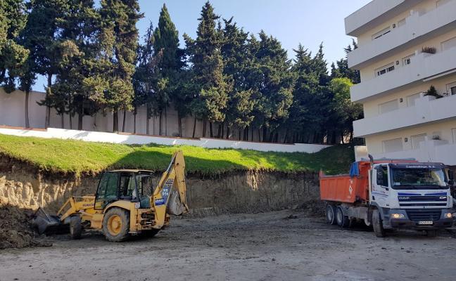 Comienzan las obras de remodelación del primer tramo de la avenida Andalucía en Estepona