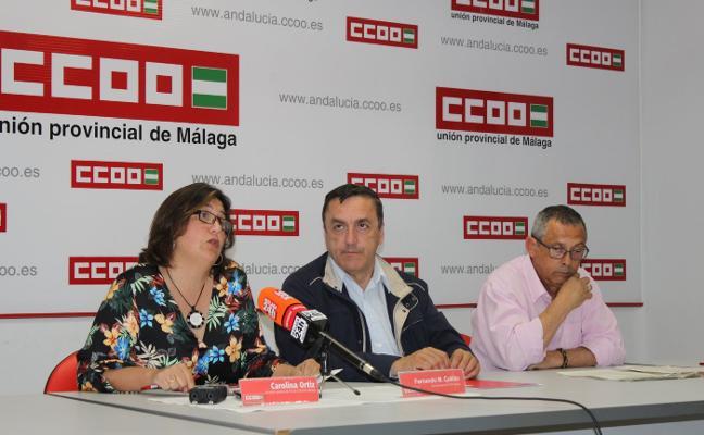 CCOO acusa a la Junta de abandonar sus obligaciones en el puerto pesquero