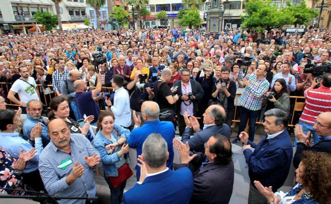 Miles de personas claman en Algeciras contra el narcotráfico