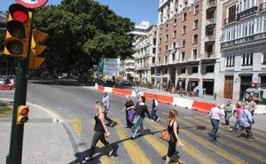 El Ayuntamiento advierte que las obras de la Alameda son para ganar espacio para el peatón y no para saturarlo de terrazas