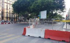 Cortes y cambios en el tráfico este fin de semana en Málaga capital