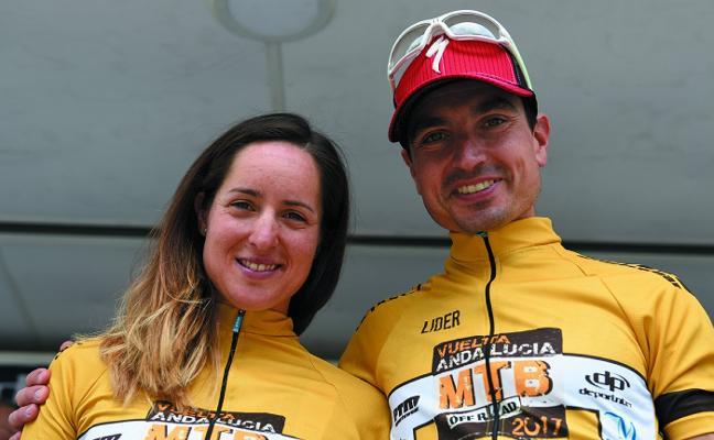 Rocío Martín y José Luis Carrasco defenderán su título en la Vuelta Andalucía MTB