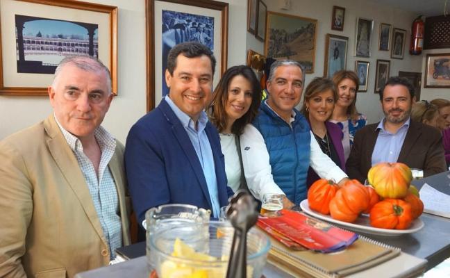 Juanma Moreno exige a la Junta «más apoyo» a Ronda en turismo e infraestructuras