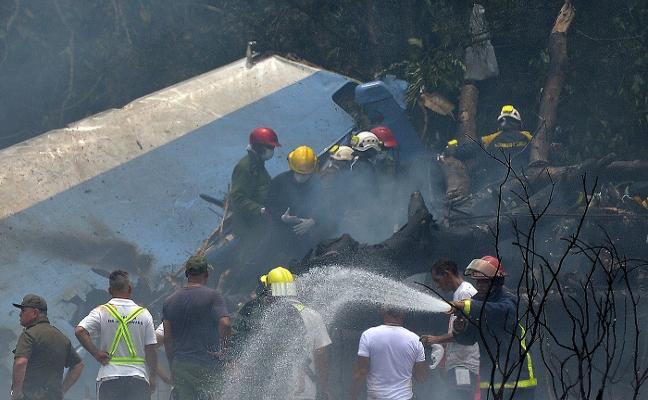 Una tragedia aérea golpea a Cuba