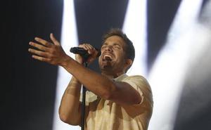 Así fue el concierto de Pablo Alborán en Málaga