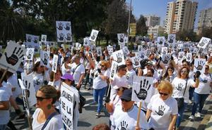 Miles de personas gritan «¡No se fue sola!» en la marcha convocada por los padres de Lucía Vivar para pedir justicia