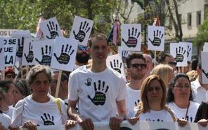 Miles de personas exigen en Málaga que no se archive el caso de Lucía Vivar