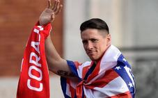 El último gran homenaje del Atlético a Torres