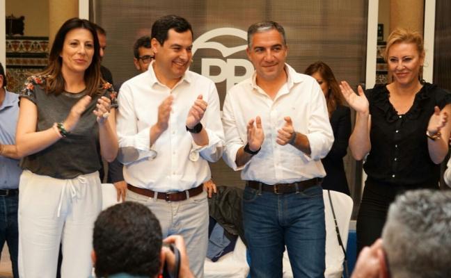Juanma Moreno apela en Ronda al espíritu de Blas Infante para cambiar Andalucía