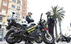 La Policía Local de Málaga multó a más de 9.000 coches en 2017 por aparcar en doble fila