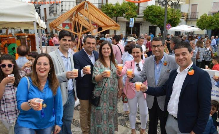 Fotos del Día de la Naranja en Coín