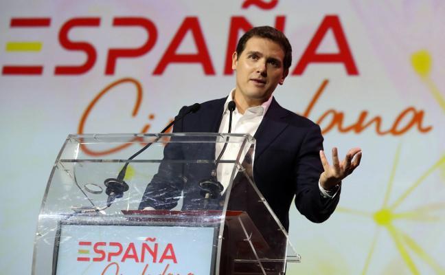 Rivera lanza una plataforma ciudadana para ensalzar el sentimiento español