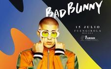 Bad Bunny actuará en Fuengirola el próximo 15 de julio
