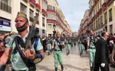 La Legión desfilará este domingo por las calles del centro de Málaga
