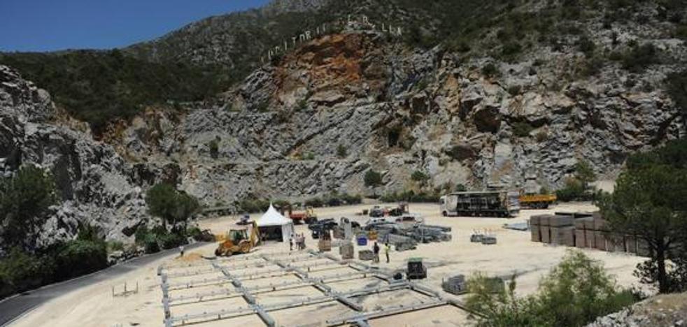 El Ayuntamiento de Marbella podrá disponer de la cantera de Nagüeles durante 24 años más