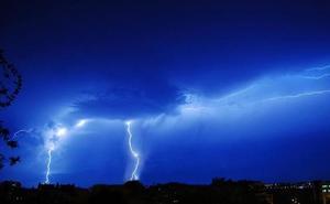 Málaga, en aviso amarillo este lunes por tormentas