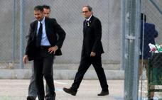 Torra: «Cataluña está esperando a sus políticos honorables»