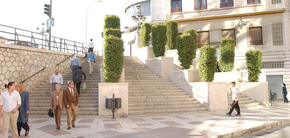 El Ayuntamiento mantendrá la planta curva de las escaleras de la Tribuna de los Pobres