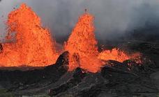 El espectacular renacer del volcán Kilauea en Hawai